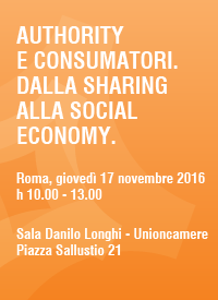 authority e consumatori dalla sharing alla social economy