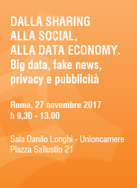 dalla sharing alla social alla data economy big data fake news privacy e pubblicita